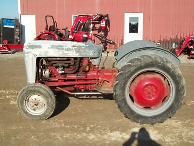 Ford Jubilee Tractor Runs Good But Kind Of Ugly