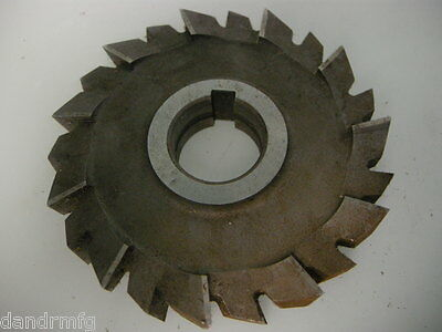 New 125h X 22 X 32mm Circular Hss Slitting Saw Blade Side Cutter Cutting Mill