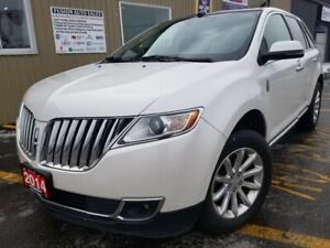 2014 Lincoln MKX AWD-NAVIGATION-PAN ROOF-HEATED LEATHER-BLUETOOT