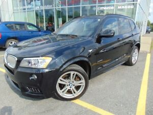 2011 BMW X3 XDRIVE 35i BITURBO M PACKAGE TOIT PANORAMIQUE