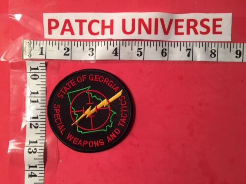 STATE OF  GEORGIA  SPECIAL WEAPONS AND TACTICS  SHOULDER PATCH O133