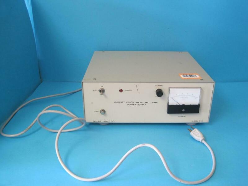 Electro Powerpacs Xenon Short Arc Lamp Adjustable Power Supply Model 1148