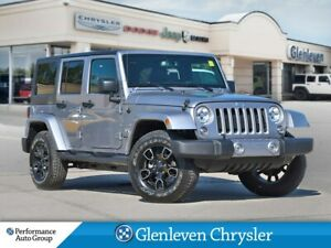 2018 Jeep WRANGLER UNLIMITED Sahara Navigation Leather