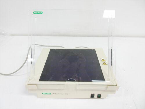 BIORAD UV TRANSILLUMINATOR 2000 170-7942 WITH ACRYLIC SHIELD