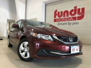 2015 Honda Civic Sedan LX w/heated front seats ONE LOCAL OWNER