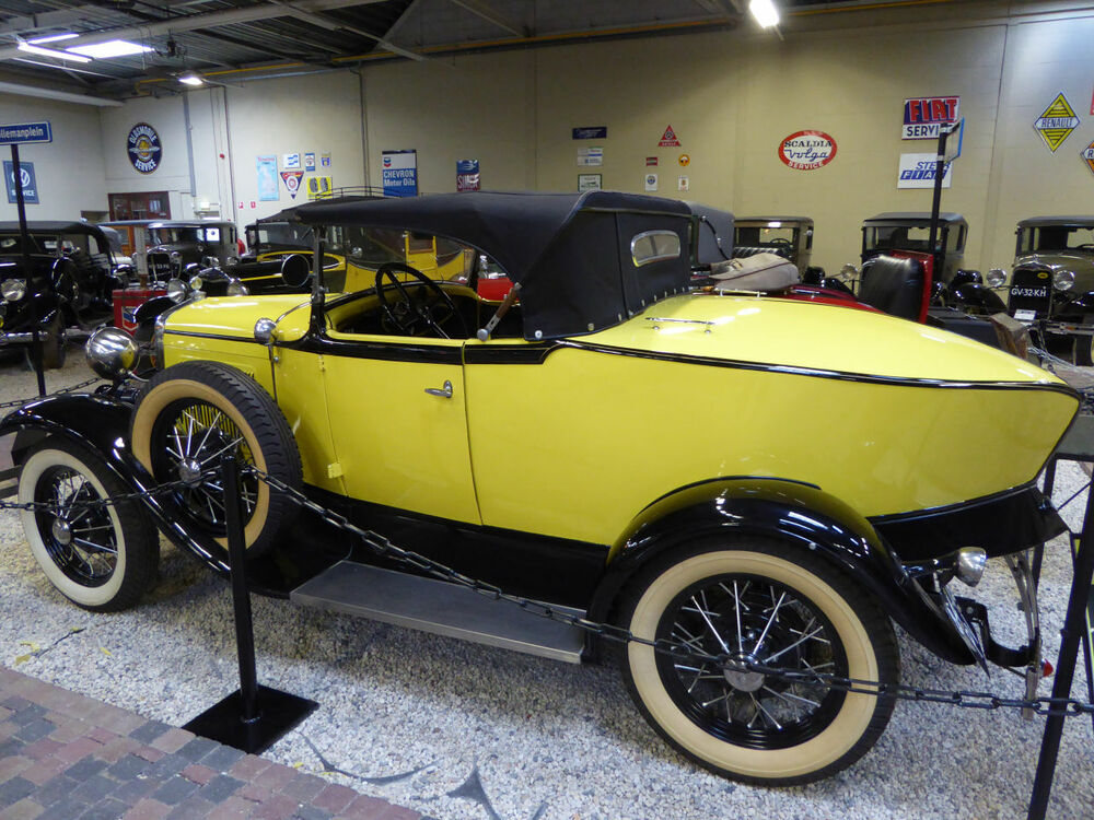 Ford A Speciale Achterkant 1930