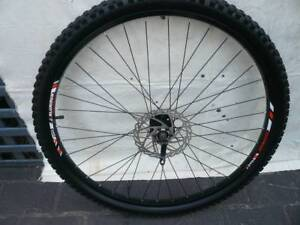 MTB FRONT WHEEL/TYRE, PLUS SPARE TYRE/TUBE 29 INCH. ALL NEW.