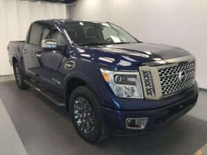 2017 Nissan Titan HEATED LEATHER, HEATED STEERING WHEEL, BACK...