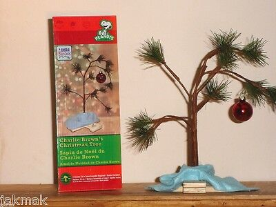 Peanuts CHARLIE BROWN'S CHRISTMAS TREE + Blanket & Stand~Non-Musical~Classic 14""