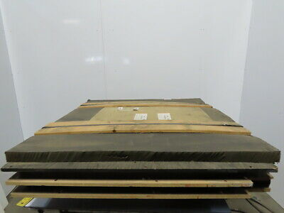 Dematic Model 2420 Drive Pan Sound Dampener Foam Rubber Sheets Lot Of 3