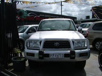 1999 Toyota LandCruiser Wagon
