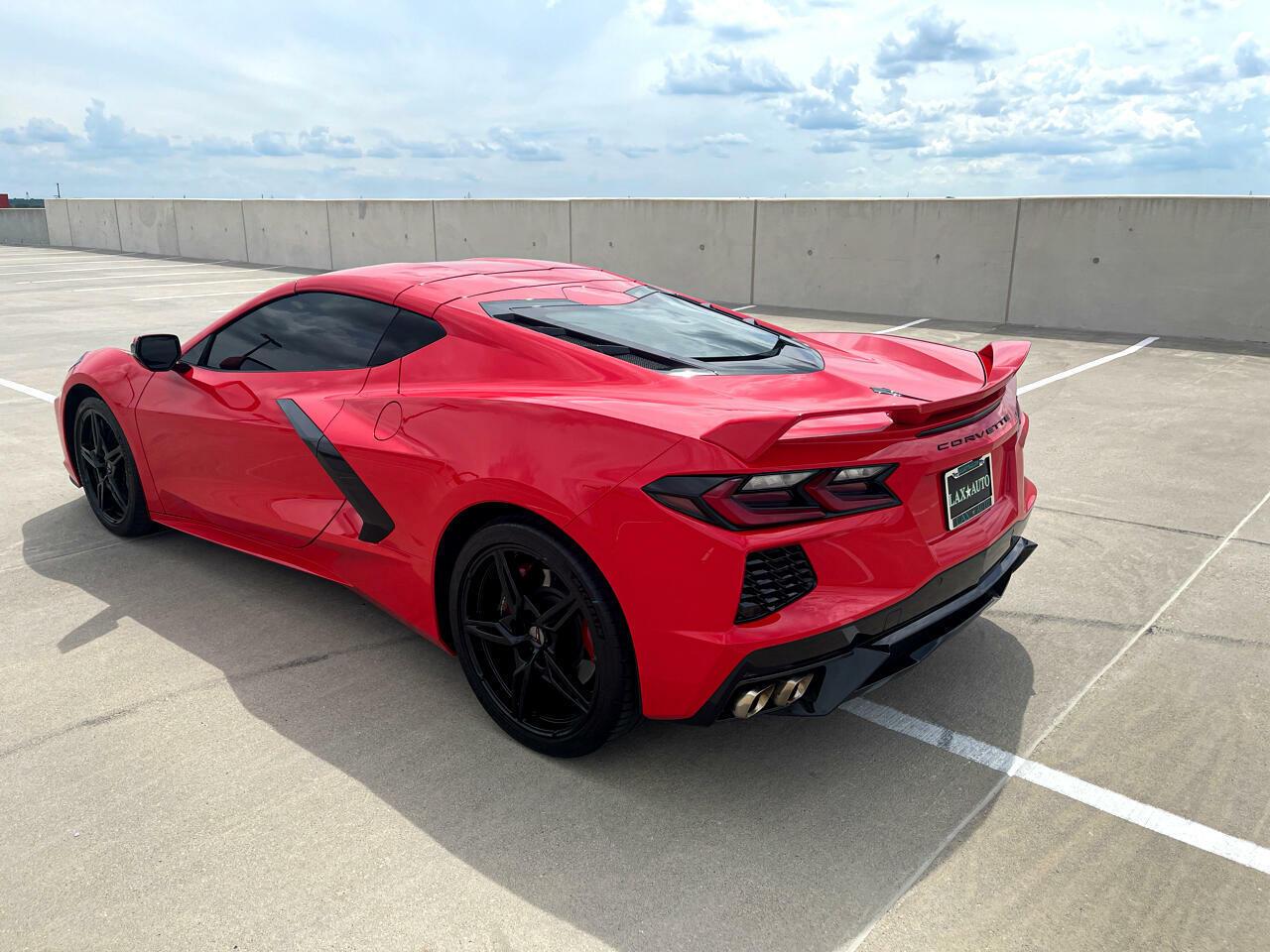 2020 Red Chevrolet Corvette Coupe 1LT | C7 Corvette Photo 4