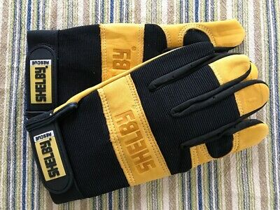 Shelby 2515 Rescueutility Glove Tanblack Xtra Large