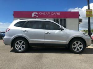 2007 Hyundai Santa Fe CM MY07 Elite Silver 5 Speed Sports Automatic Wagon Garbutt Townsville City Preview