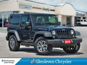 2016 Jeep Wrangler Rubicon Hard Top navi Alpine sound system
