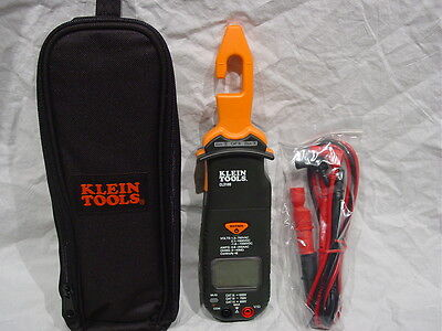 Klein Electrical Tool Cl3100 Ac Dc Hook Clamp Volt Meter 200 Amp Current Voltage