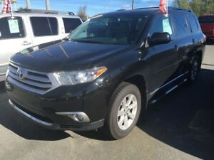 2013 Toyota Highlander AWD 7 PLACES AC VITRES MAGS CAMÉRA RECUL