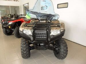 2017 Honda TRX420FA6 $50.01 WEEKLY! FULLY LOADED ATV! CAMO!