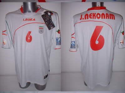 Iran Nekonam Asian Cup 2011 Legea BNWT Shirt Jersey Soccer Adult XL New Trikot image
