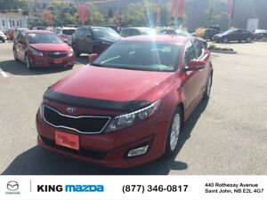2015 Kia Optima EX LOW KMS..ONE OWNER..HEATED LEATHER SEATS..DUA