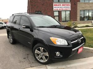 Sharp & Sporty 2009 Toyota RAV4 LIMITED, Sold Fully Certified