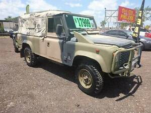 1988 Land Rover X army with Trailer diesel 4x4 12 seater Holtze Litchfield Area Preview