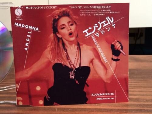 """Angel"" Madonna japanese CD maxi single (4 tracks)"