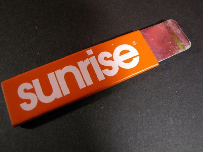 Vintage Nestle SUNRISE Handy Cutter, Jiffy Cutter, Advertising Box Cutter  NOS