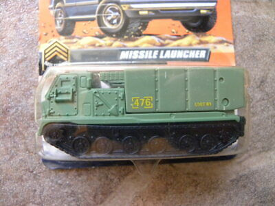 MISSILE LAUNCHER  #82      1998 MATCHBOX MILITARY PATROL SERIES    1:64 DIE-CAST