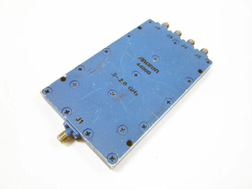 ANAREN 44000 SIGNAL CONDITIONING 500 - 2000 MHZ 17W 4 WAY