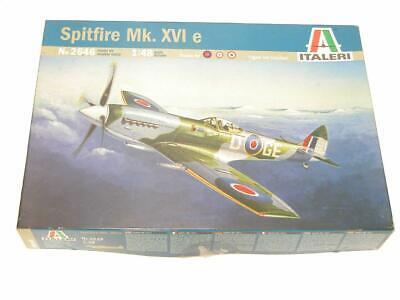 1/48 Italeri Spitfire Mk XVI e RAF WW2 Fighter Plastic Scale Model Kit 2646