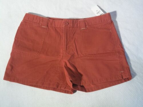 nwt womens old navy khaki style shorts casual wear size 10 red free