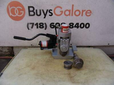 Ridgid 918 Hydraulic Roll Groover 2-12 Inch For 300 1224 535 1822 Pipe Threader