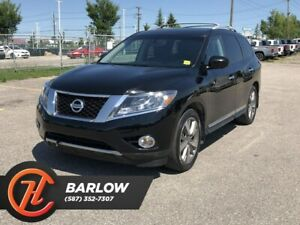 2014 Nissan Pathfinder Platinum / Navi / Heated and Cooled Leath
