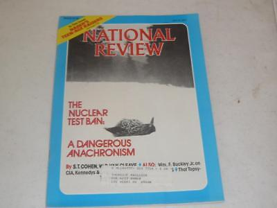 NATIONAL REVIEW MAGAZINE / JULY 8 1977 / NUCLEAR TEST BAN / RALPH NADER SAT GRE ()