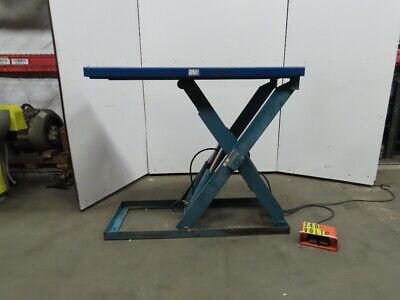 Advanced Lift Hydraulic Scissor Lift Table 65x24 230460v 3ph 2000lb Cap
