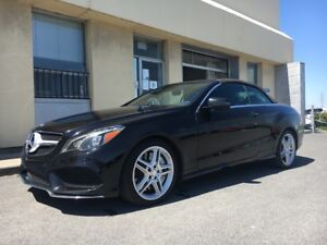 2014 Mercedes-Benz E-Class E 550 - V8 BI-TURBO RARE CONVERTIBLE