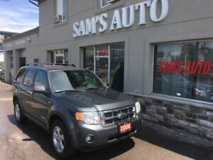 2008 Ford Escape XLT 2 YEARS WARRANTY