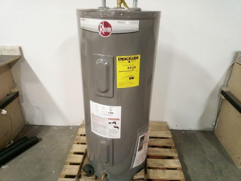 Rheem PROE40 M2 RH95 40.0 Gal 240V 4500W 150 Max PSI Electric Water Heater