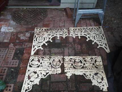Rare complete set of antique iron work