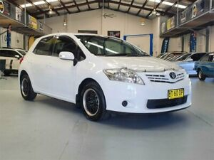 2010 Toyota Corolla ZRE152R MY11 Ascent White 6 Speed Manual Hatchback Seven Hills Blacktown Area Preview