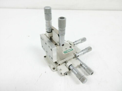 LINE TOOL CO A-RHFF XYZ STAGE WITH FINE FOCUS MICROMETERS - PARTS