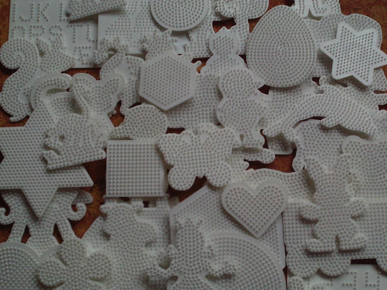 Bügelperlen Hama Stiftplatte Ei