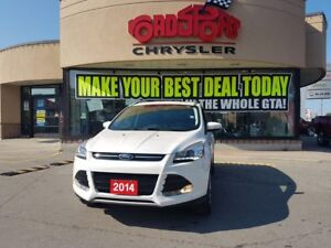 2014 Ford Escape Titanium PANO ROOF LEATHER NAVI REAR CAM POWER