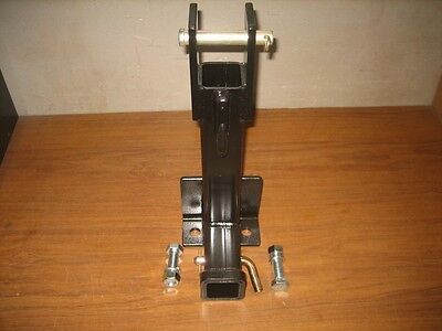 Heavy Duty 3 Point Draw Bar Trailer Hitch Withwelded On 38 Grabhook