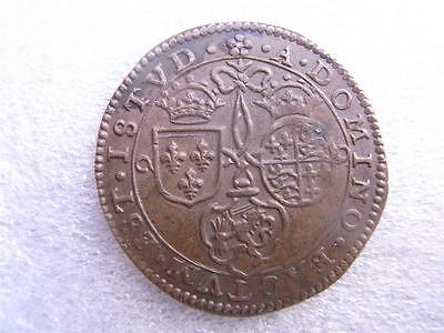 1597  Medal    ELIZABETH  I    BATTLE OF TURNHOUT   Scarce