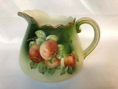 Ceramic Lidded PotUrn with Beautiful Hand Painted Rose design Sale 10/% off
