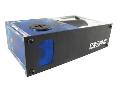 "XSPC X2O 420 Single 5.25"" Drive Bay Water Cooling Reservoir & Pump"