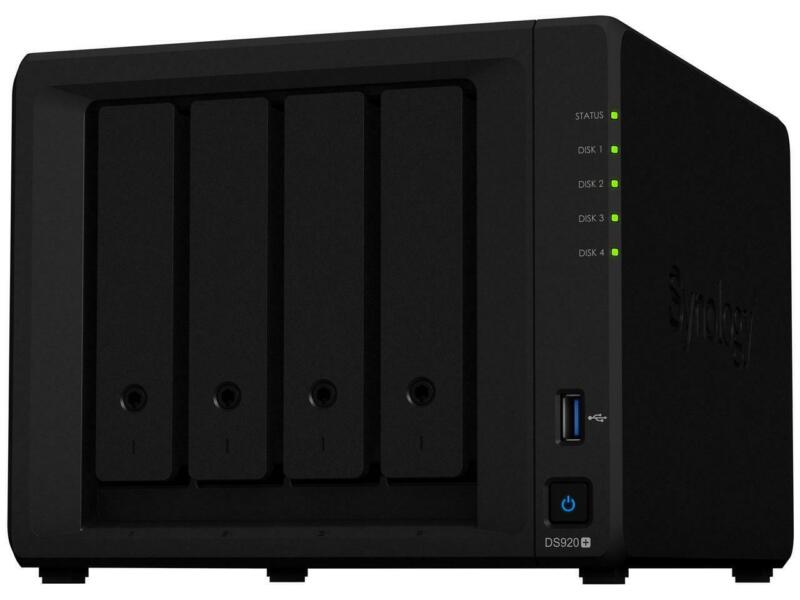 Synology 4 bay NAS DiskStation DS920+ (Diskless)