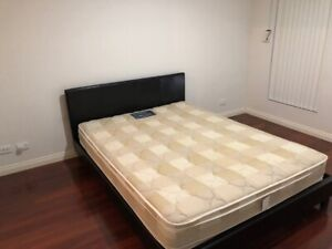 Queen size bed with free mattress